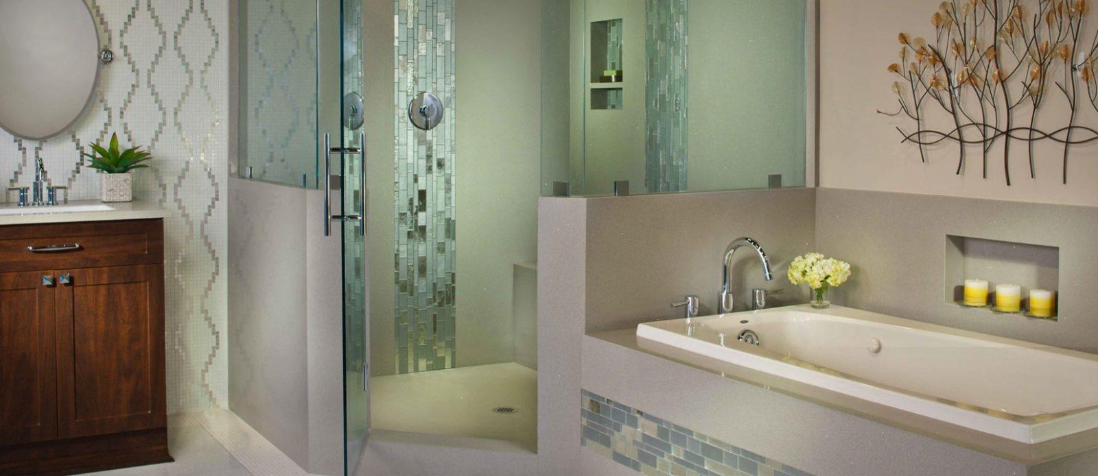 Granite Transformations - Cleveland, OH - granite tile bathroom